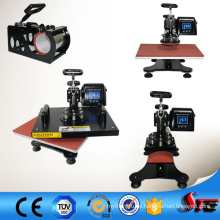 CE genehmigt multifunktionale LCD 4 in1 Sublimation Combo Transferpresse