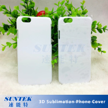 Caixa plástica do telefone da sublimação da tampa 3D da transferência térmica de calor do PC
