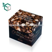 Мелким Оптом Бумажная Упаковка На Заказ Коробки Кофе