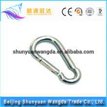 Hot selling wholesale fashion solid spring loaded hook unique metal swivel snap hook
