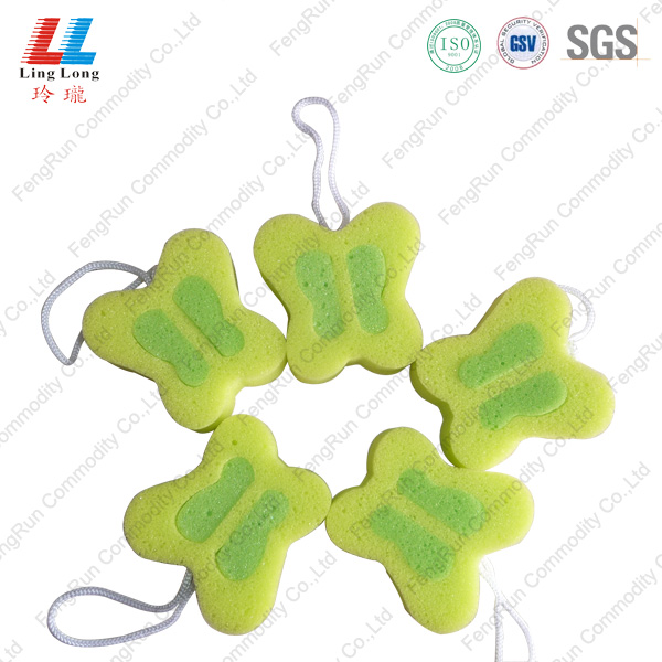 little butterfly sponge