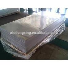 Placa de aluminio / hoja 1060 para la construcción con el mejor precio y calidad