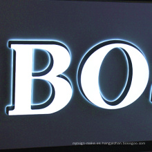 Luz de canal frontal iluminada / Luz LED / Bombilla Leb para publicidad exterior