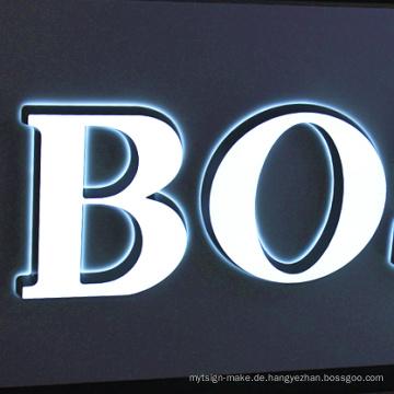 Vorleuchtetes Kanal-Buchstabe- / LED-Licht / Leb-Birne für die Werbung im Freien