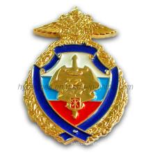 Custom Engraved Police Badge Made of Metal (GZHY-BADGE-002)