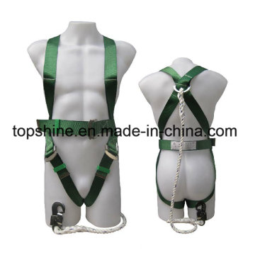Standard Industrial Polyester Working Full-Body Adjustable Safety Harness Belt