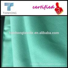 lycra algodão sarja tecidos/95 5 tecido de algodão/spandex do poliéster do spandex tecido de algodão