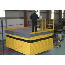 Plataforma elevadora de tijera a prueba de polvo