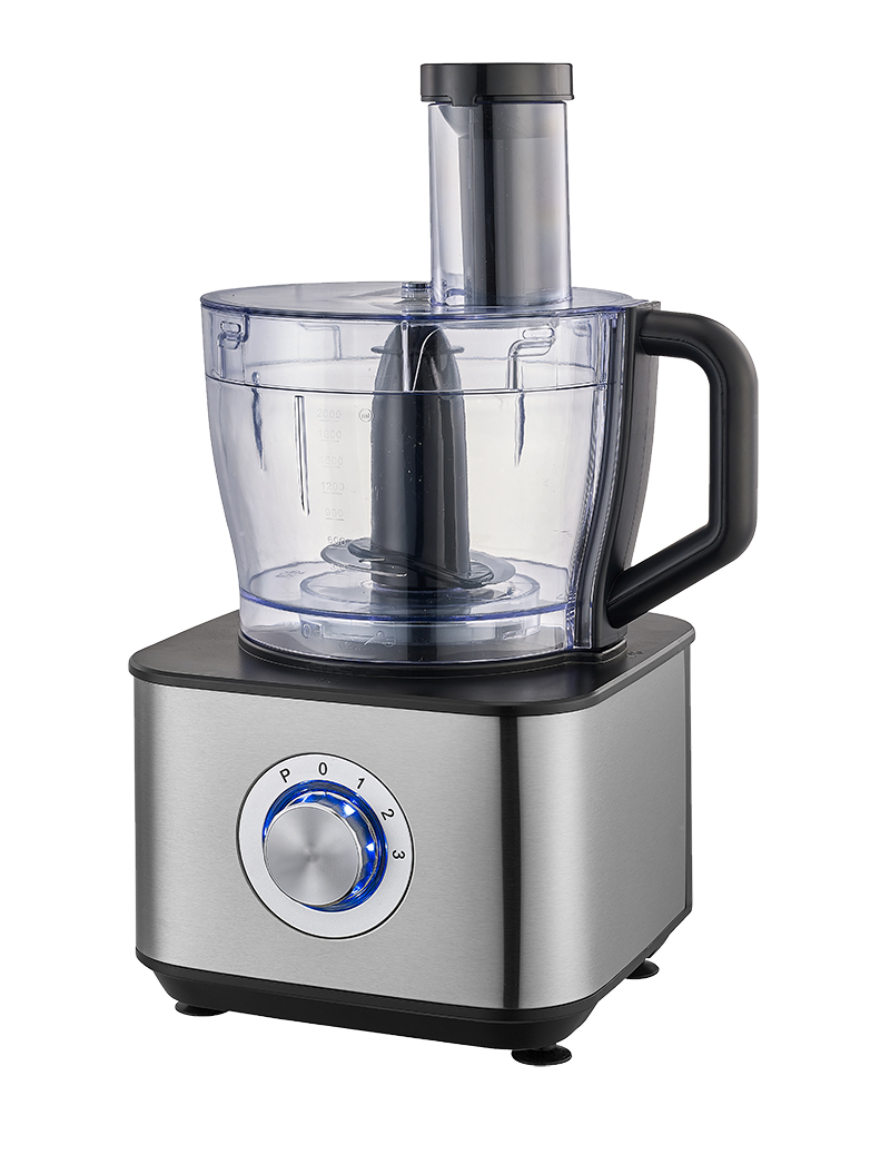 LED light large capacity food processor
