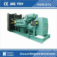 1500kw/1875kVA Low Speed Generator Power Plant 1000rpm 50Hz (HG1875)
