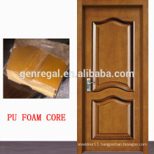 Thermal Interior PU foam core mdf melamine door