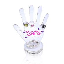Creative Acryl Display Halter für Ringe, Clear Perspex Display