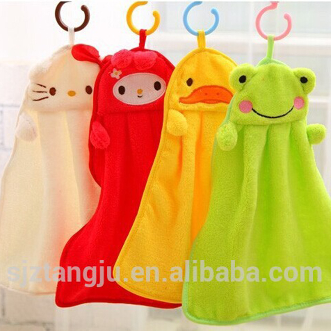 color hanging towel