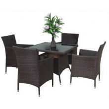 2013 Hot Sell High Quality synthetic rattan furniture Bistro Set