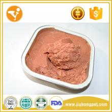 Comida de gato Halal Carne de frango fresco Comida de gato molhada saudável