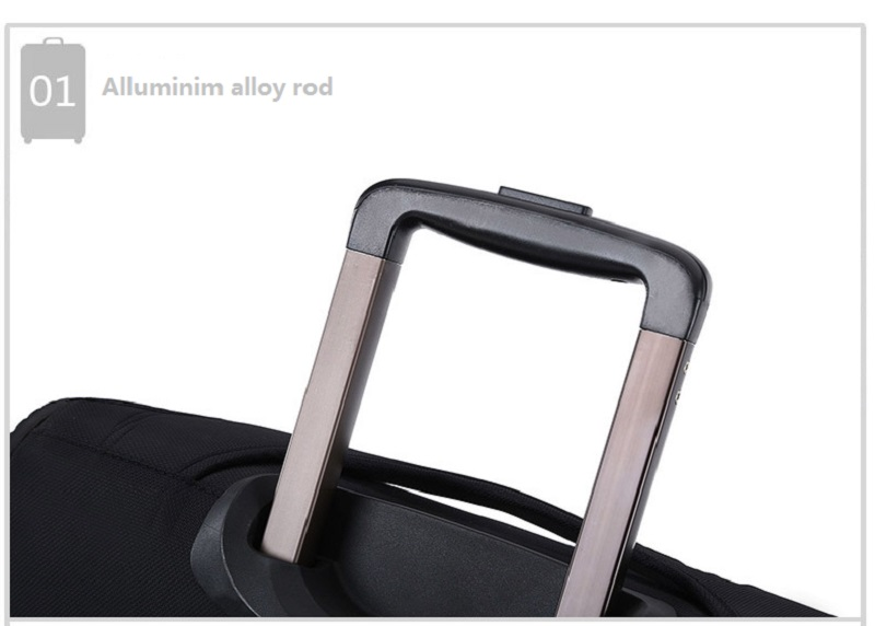 Alluminium alloy rod trolley bag