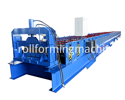 Close Type Roll Forming Machine