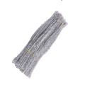 Factory sale Cheap Toys 30cm colored Tinsel Pipe Cleaner diy glitter chenille stem For Kids