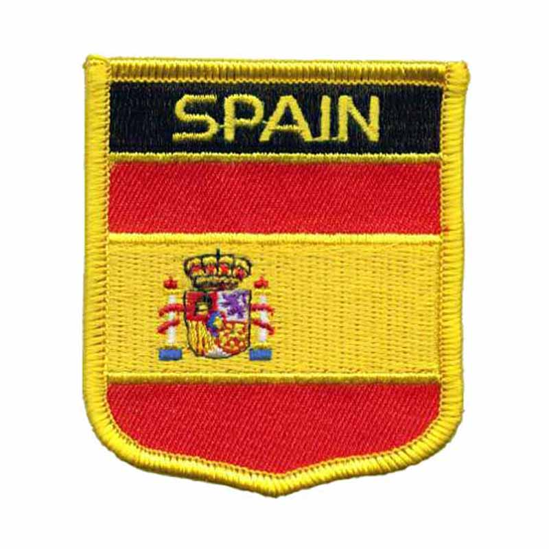 Spain Shield Embroidery Patches