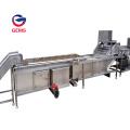 Steam Heating Potato Chips Yam Blanching Machine