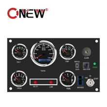 52mm Kus Dongfeng Vdo Water Voltage Fuel Water Oil Pressure Temperature Pressure Speed Level Indicator Meter Tachometer Gauge Price with Alarm and Lights