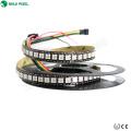 Alta eficiência lumen ws2812 ws2813 GS8208 144 led pixel 12 v 5050 rgb smd 5 m / rolo levou tira ip67 UV levou tira flexível