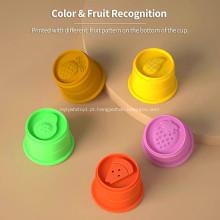 Brinquedos Jenga de silicone para roedores pioneiro de mesa