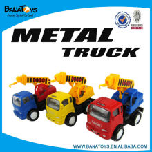 3 colours pull back toy truck for children
