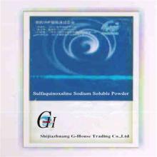 Sulfaquinoxalina Sodio Soluble en Polvo