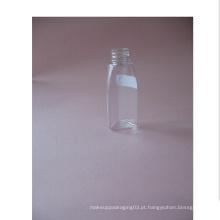 1oz garrafa de animal de estimação sem tampa Triangle Clear
