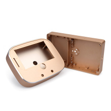 High Precision Gold Anodized CNC Machining Aluminum Parts