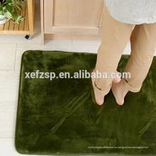 Alfombra de alta calidad del precio del piso de la alfombra de la espuma de la memoria del poliéster 100%