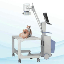 VET-10 Cheap Medical Equipment Mobile Portable veterinary horse dog cat X ray machine system price