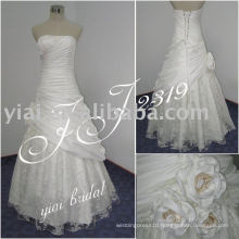 2011 newest arrival low price free shipping high quality Real bridal dress JJ2309