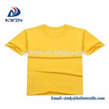 Camiseta de algodón estampada a medida de calidad