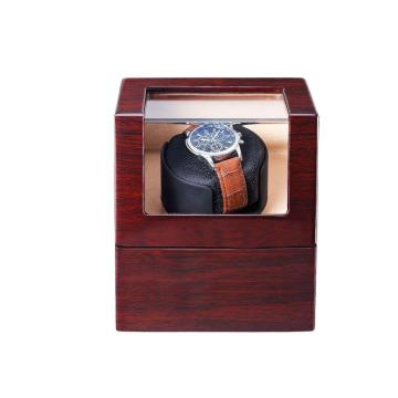 Single Watch Winder Box mit Rosenholz