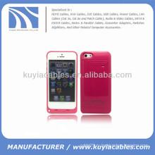 2200mAh внешний корпус батареи для iPhone 5c красный