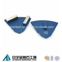 Doppelte Segmente Diamant Metall Betonboden Scanmaskin Schleifscheibe