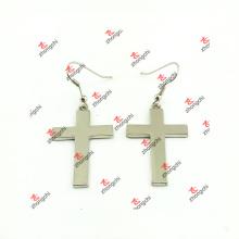 Мода цинковый сплав крест серьги для подарков (CEG51031)
