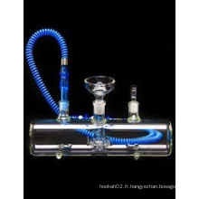 Cigarette en verre à cigarette électronique, nouvelle conception Shisha Glass Hookah avec expédition rapide
