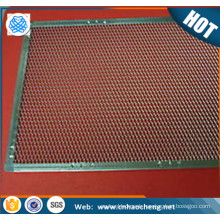 1mm thickness diamond hole aluminum 55cm mesh trays/pizza screen