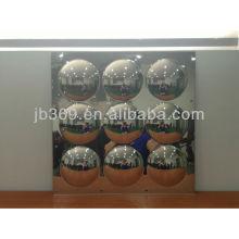 Espejos domésticos de pared de 9 paneles