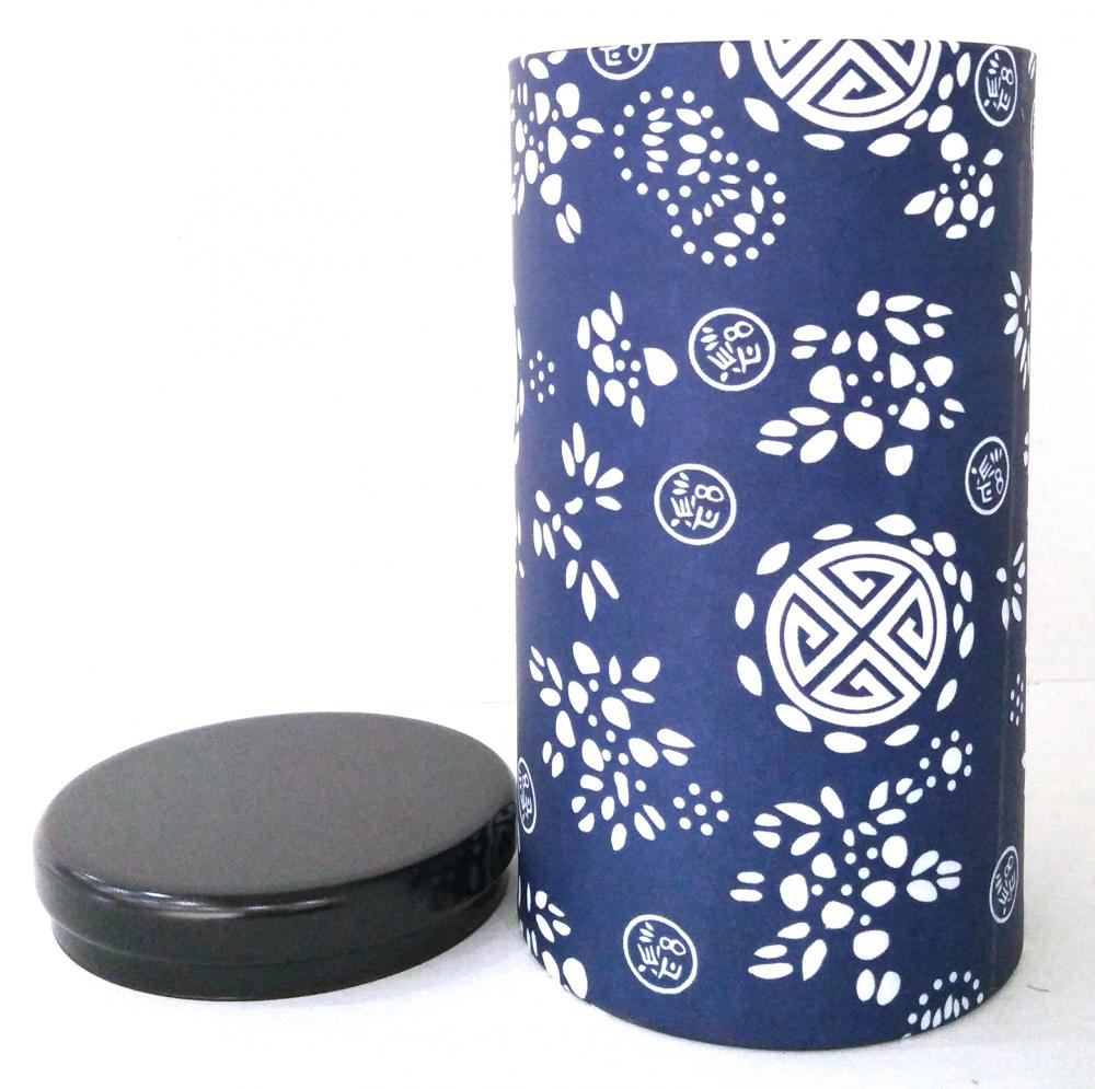 Round Cigarette Tin Box