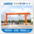 Kuangyuan Marke Licht Duty Single Girder Gantry Kran mit Elektro-Hebebühne im Außenlager