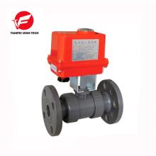 DN32 DN40 DN50 UPVC CTF-002 20NM 220V electric actuator valve
