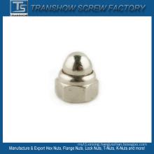 Chrome Plated Domed Head Cap Nut