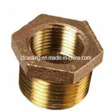Raccords et douilles en laiton / bronze / cuivre par usinage CNC