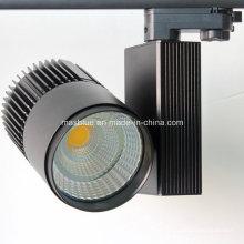 4wire 3 Fase Europeo estándar 45W COB LED Track Light