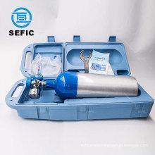 Export To Australia Aluminum Cylinder Medical Portable Oxygen Cylinder