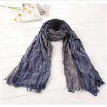 Pleated Scarf,Male Scarf,Cotton Scarf